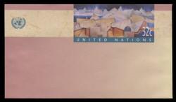 U.N.N.Y. Scott # U 10, 1997 32c Cripticandina - Mint Envelope, Only exists Small Size