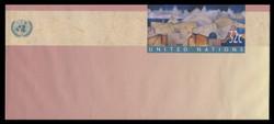 U.N.N.Y. Scott # U 11, 1997 32c Cripticandina - Mint Envelope, Only exists Large Size