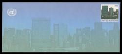 U.N.N.Y. Scott # U 15, 2001 34c UNNY Headquarters - Mint Envelope, Only exists Large Size