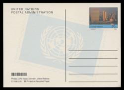 U.N.N.Y Scott # UX 21, 1998 50c U.N. Complex - Mint Picture Postal Card