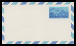 U.N.N.Y. Scott # UXC 10, 1975 11c Clouds - Mint Postal Card