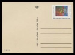 U.N.GEN Scott # UX  5, 1985 50c U.N. Emblem - Mint Postal Card