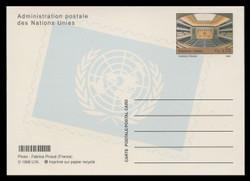U.N.GEN Scott # UX 13, 1998 70c Assembly Hall - Mint Postal Card