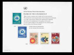 U.N. Souvenir Card # 21 - Human Environment