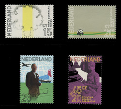 NETHERLANDS Scott # 490-2, B475 1971 60th Birthday of Prince Bernhard (Set of 4)