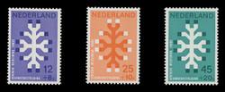 NETHERLANDS Scott # B 449-51, 1969 Queen Wilhelmina Fund, 20th Anniversary (Set of 3)