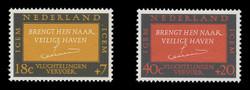 NETHERLANDS Scott # B 407-8, 1966 Intergovt. Comm. for European Migration (Set of 2)