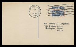 U.S. Scott # UX  51, 1964 4c Social Security - Used Postal Card