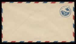 U.S. Scott # UC  1/13, UPSS #AM4/30 1929 5c Blue Plane (Tail Leans), Border Type b/2  - Mint (See Warranty)