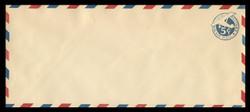 U.S. Scott # UC  1/23, UPSS #AM6/30A 1929 5c Blue Plane (Tail Leans), Border Type d/4  - Mint (See Warranty)