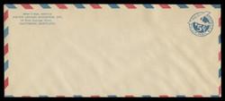 U.S. Scott # UC  1/23, UPSS #AM7/30 1929 5c Blue Plane (Tail Leans), Border Type e/5  - Mint (See Warranty)