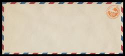 "U.S. Scott # UC  3/23, UPSS #AM16/39 1934 6c Orange Plane, ""6"" = 6 1/2 mm, Border Type d/4  - Mint (See Warranty)"