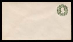 U.S. Scott # U 420/10, UPSS #2009/30a 1915-32 1c Franklin, green on white, Die 1 - Mint (See Warranty)