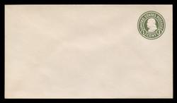 U.S. Scott # U 420/10, UPSS #2010/38 1915-32 1c Franklin, green on white, Die 1 - Mint (See Warranty)