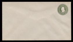 U.S. Scott # U 420/13, UPSS #2015/40 1915-32 1c Franklin, green on white, Die 1 - Mint (See Warranty)