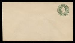 U.S. Scott # U 420b/10, UPSS #2030/25 1915-32 1c Franklin, green on white, Die 3 - Mint (See Warranty)