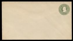 U.S. Scott # U 420b/13, UPSS #2032/25 1915-32 1c Franklin, green on white, Die 3 - Mint (See Warranty)