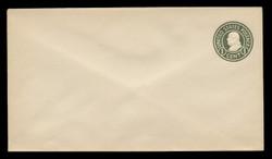 U.S. Scott # U 420c/13, UPSS #2039/24 1915-32 1c Franklin, green on white, Die 4 - Mint (See Warranty)