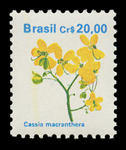 BRAZIL Scott # 2263, 1990 20cr Cassia macranthera