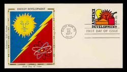 U.S. Scott #U585 13c Energy Development Envelope First Day Cover.  Colorano cachet.