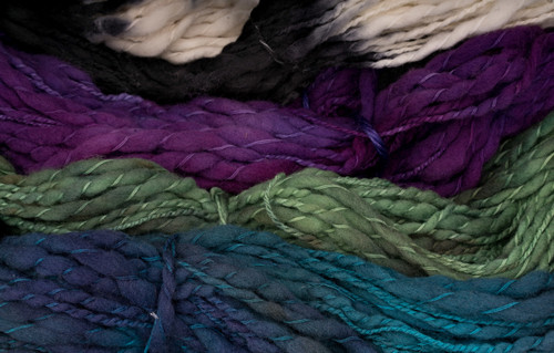 Local New York Hand Dyed Thick and Thin Yarn