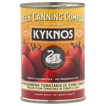 Kyknos Peeled Plum Tomatoes 400g Can