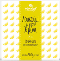 Loukoumiland Loukoumi with Lemon Flavor 400g Box