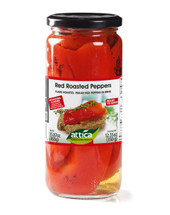 Attica Red Roasted Peppers 350g Jar