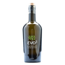 EVO3 Organic Extra Virgin Olive Oil 500ml Glass Bottle