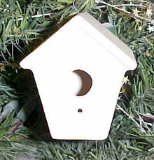 Bird House Ornament SB701