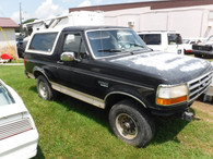 1993 Ford Bronco Eddie Bauer Edition ~ Nice 4x4 Hard Top SUV~