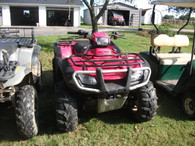 2005 Honda Foreman Sharp Loaded Off Road Vehicle!