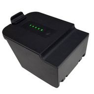 The DCI FBP F Series 14.4V LI-ION Battery has a lighted battery meter.