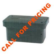 PEN PE20HD HDPE Enclosure w/ lid 5k rating 12x20x15 blank lid