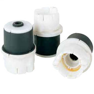 Condux Fiber Optic Innerduct Plugs are split plug with bushing assembly for sealing around cable in duct installations.