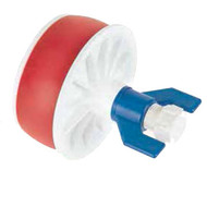 The Condux Non-Metallic Eye Nut Plug is made of durable, expansive polyurethane with rugged polypropylene compression plates and eye nut.