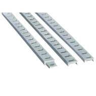 "Condux Cable Racks support cable runs in manholes and vaults. Made of 1-1⁄2"" x 9⁄16"" x 3⁄16"" (38 x 14 x 5 mm) hot rolled steel channel, hot dip galvanized."