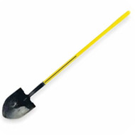 "ST-72-016 E Round Point Long Handle 48"" E-Series Shovel"