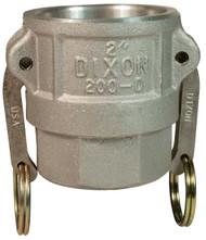 """DV 200-D-AL 2"""" Aluminum Female Coupler X Female NPT"""