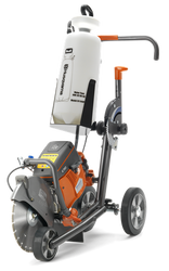 Husqvarna cutting carts are designed specifically for Husqvarna's handheld gas power cutters.