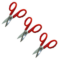 Fiber Optic Shears, 3-pack