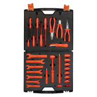 1000V Insulated Maintenance Imperial Tool Set, 29-Piece