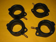 88-90 ZX1000 ZX-10 ZX10 INTAKE MANIFOLD BOOTS CARB HOLDERS