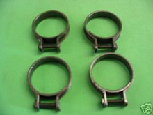 4 KAWASAKI KZ900 Z1, KZ1000 CARB HOLDER CLAMPS