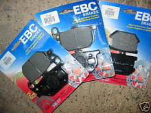 3 XS1100, XS750, XS850  SPECIAL EBC FRONT& REAR PADS