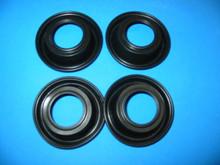 4X SUZUKI GSX600 GSX750 RF900 GSX1100 GSXR1100 GSF1200 CARB SLIDE DIAPHRAGMS