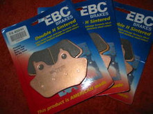 (3) 00-03 XLH883 XL1200C XL1200S XL1200 EBC BRAKE PADS
