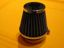 2 UNIVERSAL INDIVIDUAL POD AIR FILTER FILTERS 54MM ID