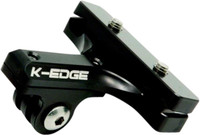 K-Edge Saddle Rail Mount for Go Pro Camera black sport factory