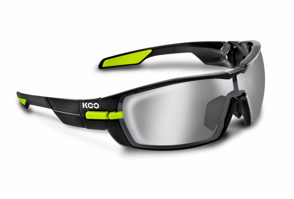 Kask Koo Open black lime smoke lense